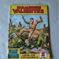 Giornalini: - - HOMBRES VALIENTES - TOMMY BATALLA Nº 3 FERMA. Lote 45730893