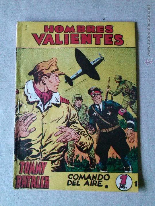 HOMBRES VALIENTES- TOMMY BATALLA Nº 5 - FERMA (Tebeos y Comics - Ferma - Otros)