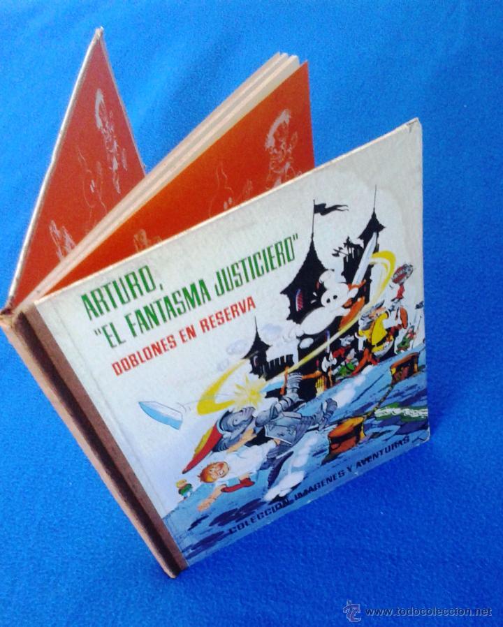 Tebeos: ARTURO, EL FANTASMA JUSTICIERO. COL. IMÁGENES Y AVENTURAS. FERMA, 1964 - Foto 3 - 46145358