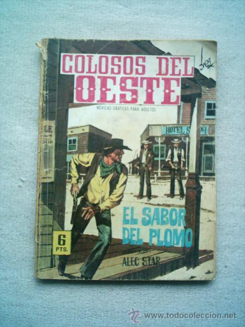 COLOSOS DEL OESTE Nº 96 EL SABOR DEL PLOMO / FERMA 1964 (Tebeos y Comics - Ferma - Colosos de Oeste)