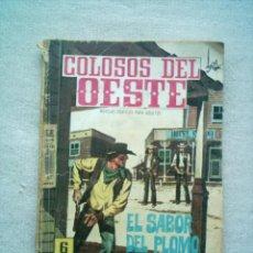 Tebeos: COLOSOS DEL OESTE Nº 96 EL SABOR DEL PLOMO / FERMA 1964. Lote 46728742