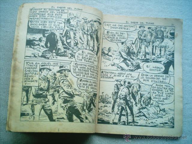 Tebeos: COLOSOS DEL OESTE Nº 96 EL SABOR DEL PLOMO / FERMA 1964 - Foto 2 - 46728742