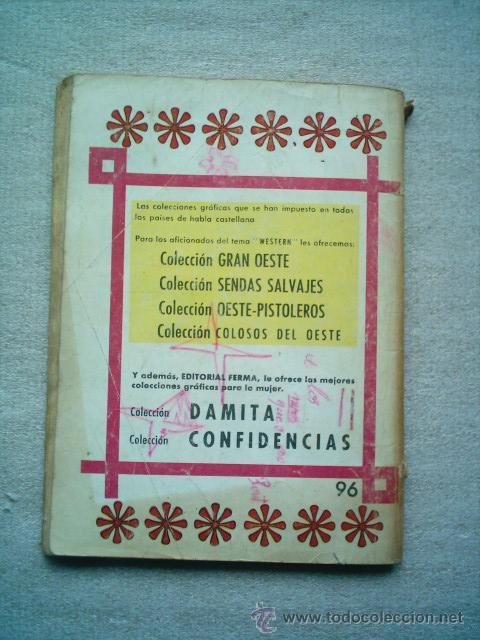 Tebeos: COLOSOS DEL OESTE Nº 96 EL SABOR DEL PLOMO / FERMA 1964 - Foto 3 - 46728742