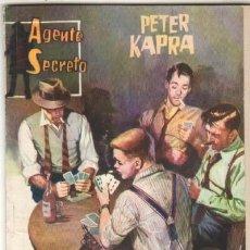 Tebeos: AGENTE SECRETO Nº 2 EDITORIAL FERMA 1962 - PETER KAPRA - ¡ HAMPA ! - 16,5 X 12 CMMS. 64 PGS. Lote 46924894