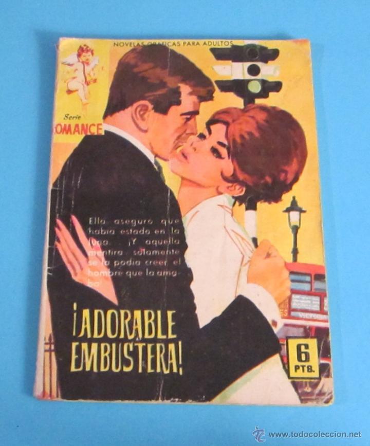 ¡ ADORABLE EMBUSTERA !. SERIE ROMANCE Nº 172. REVERSO GINA LOLLOBRIGIDA (Tebeos y Comics - Ferma - Otros)