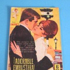 Tebeos: ¡ ADORABLE EMBUSTERA !. SERIE ROMANCE Nº 172. REVERSO GINA LOLLOBRIGIDA. Lote 46992272