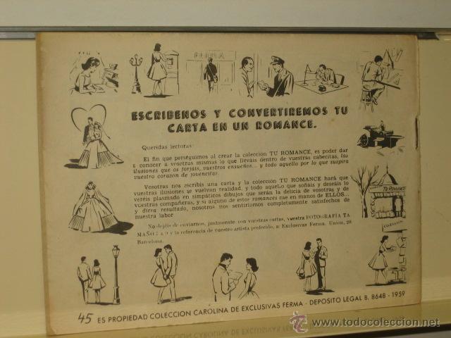Tebeos: TV ROMANCE Nº 45 TU ERES MI VIDA - FERMA - Foto 2 - 47335148