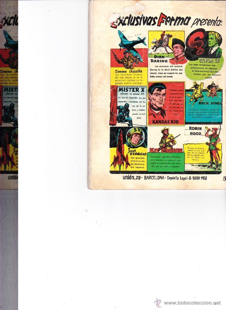Tebeos: ESPIA 13 Nº 54 - Foto 2 - 47471482