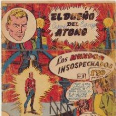 Tebeos: EL DUEÑO DE ATOMO Nº 1. FERMA 1956.. Lote 48004034