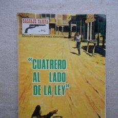 Tebeos: SALVAJE TAMPA Nº 114 CUATRERO AL LADO DE LA LEY / PRODUCCIONES EDITORIALES 1973. Lote 48681627