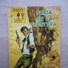 Tebeos: INDOMITO OESTE Nº 114 FURIA EN LA FRONTERA / PRODUCCIONES EDITORIALES 1973. Lote 48681654