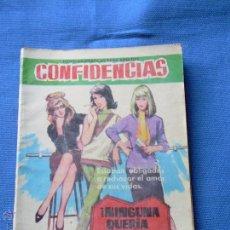 Livros de Banda Desenhada: CONFIDENCIAS Nº 271 - NINGUNA QUERIA CASARSE - FERMA. Lote 48804732