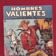 Tebeos: HOMBRES VALIENTES JESSE JAMES NUMERO 8 SIEMPRE JUNTOS. Lote 49036905