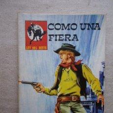 Tebeos: LEY DEL OESTE Nº 124 COMO UNA FIERA / VILMAR 1979. Lote 49117719