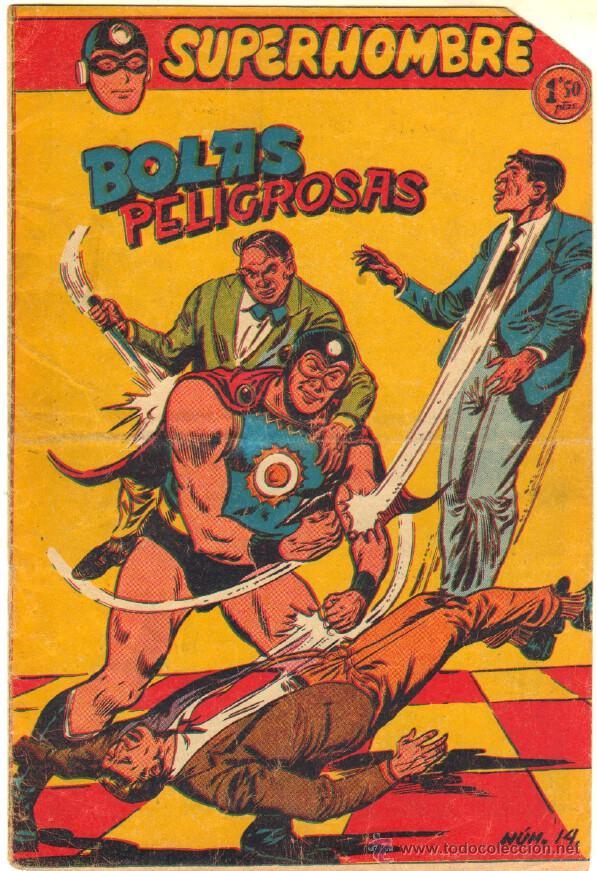 SUPERHOMBRE Nº 14 ORIGINAL EDITORIAL FERMA (Tebeos y Comics - Ferma - Otros)