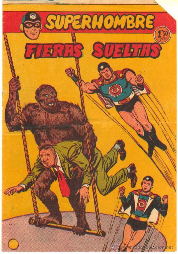 SUPERHOMBRE Nº 32 ORIGINAL EDITORIAL FERMA (Tebeos y Comics - Ferma - Otros)