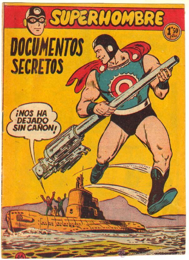 SUPERHOMBRE Nº 46 ORIGINAL EDITORIAL FERMA (Tebeos y Comics - Ferma - Otros)