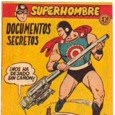 Tebeos: SUPERHOMBRE Nº 46 ORIGINAL EDITORIAL FERMA. Lote 49481820