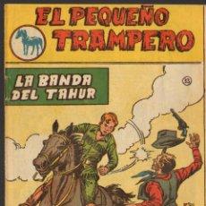 Tebeos: TEBEOS-COMICS GOYO - PEQUEÑO TRAMPERO - Nº 33 - FERMA - MUY RARO - 1957 - BB99. Lote 49555752
