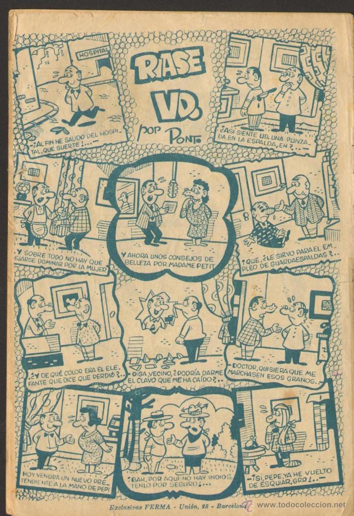 Tebeos: TEBEOS-COMICS GOYO - PIM PAM PUM 13 - ED. FERMA - 1957 - ORIGINAL - MUY DIFICIL *UU99 - Foto 2 - 49616643