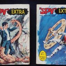 Tebeos: SPY EXTRA Nº 3 Y 4 FORMATO TACO (FERMA 1969). Lote 50928492