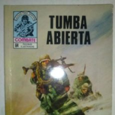 Tebeos: COMBATE-NOVELA GRÁFICA- Nº 253 -TUMBA ABIERTA-1981-TRAMA EMOCIONANTE-MUY BUENO-DIFÍCIL-LEA-4262. Lote 234016250