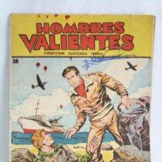 Tebeos: CÓMIC HOMBRES VALIENTES. Nº 28. TOMMY BATALLA. EL GRAN RESCATE - ED. FERMA, AÑO 1958. Lote 51415172