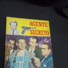 Tebeos: AGENTE SECRETO - Nº ¿18? - UN FUNERAL PARA LOS CONSPIRADORES - FERMA - . Lote 51417269