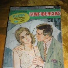 Tebeos: SERIE CONFIDENCIAS Nº EXTRA : TU ME RECORDARÁS / VIVIR SIN AMAR. EDITORIAL FERMA 1962 *. Lote 51462000