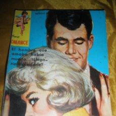 Tebeos: SERIE ROMANCE Nº 111 : PELIGROSA DECEPCION. EDITORIAL FERMA 1962 *. Lote 51481196