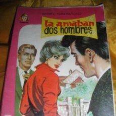 Tebeos: SERIE DAMITA Nº 119 : LA AMABAN DOS HOMBRES. EDITORIAL FERMA. CONTRAPORTADA: ALAIN DELON *. Lote 51481321