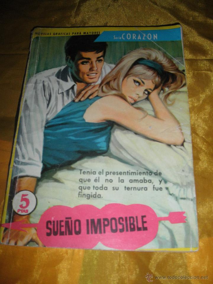 SERIE CORAZON Nº 154 : SUEÑO IMPOSIBLE. EDITORIAL FERMA 1962 * (Tebeos y Comics - Ferma - Otros)