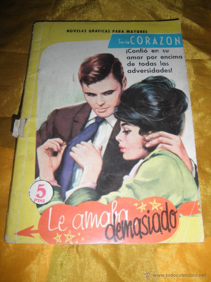 SERIE CORAZON Nº 119 : LE AMABA DEMASIADO. EDITORIAL FERMA 1962 * (Tebeos y Comics - Ferma - Otros)