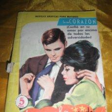 Tebeos: SERIE CORAZON Nº 119 : LE AMABA DEMASIADO. EDITORIAL FERMA 1962 *. Lote 51548500