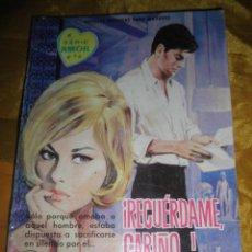Tebeos: SERIE AMOR Nº 153 : ¡ RECUERDAME, CARIÑO..¡. EDITORIAL FERMA 1962 *. Lote 51548536