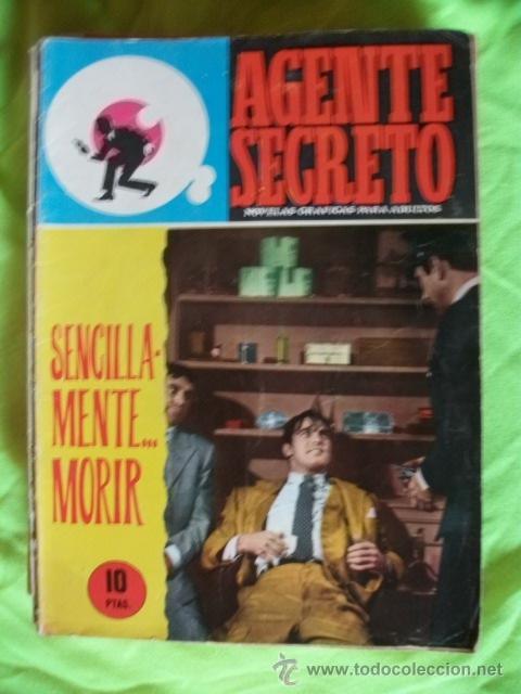 AGENTE SECRETO Nº30 FERMA COMIC (Tebeos y Comics - Ferma - Agente Secreto)