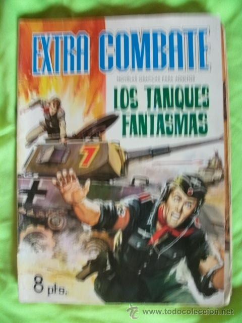 EXTRA COMBATE Nº 7 MUY BIEN CONSERVADO FERMA (Tebeos y Comics - Ferma - Otros)