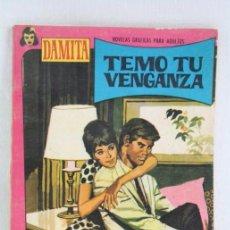Tebeos: CÓMIC / NOVELA GRÁFICA - DAMITA. Nº 456. TEMO TU VENGANZA - ED. FERMA, AÑOS 60. Lote 52232643