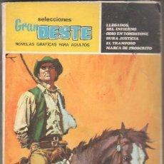 Tebeos: SELECCIONES GRAN OESTE Nº 3 - 320 PGS. 5 HISTORIAS COMPLETAS - FOTO DE CAROL BAKER. Lote 52279867
