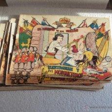 Tebeos: D'ARTAGNAN Y LOS TRES MOSQUETEROS 8 CUADERNILLOS ORIGINAL. Lote 52304532