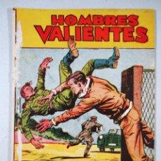 Tebeos: TOMMY BATALLA , HOMBRES VALIENTES , SERIE AMARILLA Nº 10 , ED. FERMA , 1958. Lote 57201424