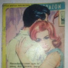 Giornalini: CORAZÓN-Nº147-´LOS HOMBRES MIENTEN`-RARO Y ESCASO TÍTULO PROMOCIONAL-1963-REGULAR-4949. Lote 52920620