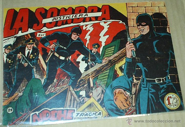 LA SOMBRA JUSTICIERA Nº 29 - FERMA 1956 - - ORIGINAL- LEER (Tebeos y Comics - Ferma - Otros)