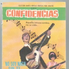 Tebeos: NO SOY NADA SIN TI. MAXIMINA R. SERIE CONFIDENCIAS. EDIT. FERMA. BARCELONA. 1962. 64 PAGS.16,5X12CM.. Lote 53234834