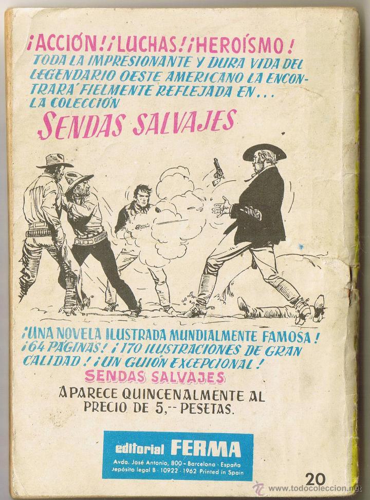 Tebeos: INVASION - AL SERMAN - COMBATE - AVENTURAS ILUSTRADAS FERMA Nº 20 - 1962 - Foto 2 - 53469833