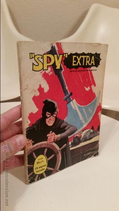 COMIC SPY EXTRA COLECCION EDITORIAL FERMA Nº 2 1969 NOVELAS GRAFICAS COMICS (Tebeos y Comics - Ferma - Otros)