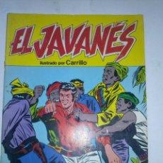 Tebeos: EL JAVANÉS- Nº 9 - (ÚLTIMO DE COLECCIÓN)-1981-LA GRAN OBRA DE A. CARRILLO-RARO Y ESCASO-BUENO-9960. Lote 146749972