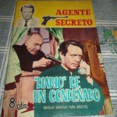 Tebeos: AGENTE SECRETO Nº 6 DIARIO DE UN CONDENADO ED. FERMA 1966. Lote 60914114