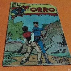 Tebeos: EL ZORRO . RESCATANDO VIDAS N°22 ORIGINAL FERMA 1956. Lote 56158223
