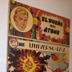 Tebeos: LA100 COMIC ESPACIO SPACE ORIGINAL AÑOS 50 EL DUEÑO DEL ATOMO Nº 7 DE FERMA, MUY BUEN ESTADO. Lote 56262125